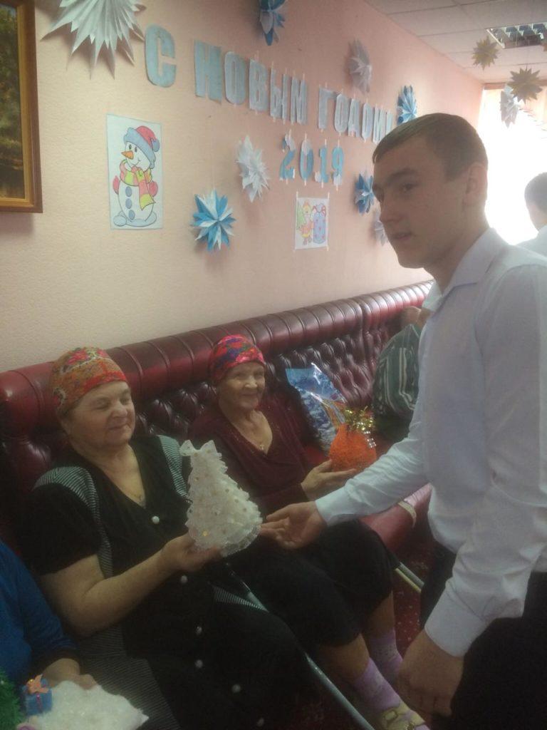 Связь поколений — ответный визит к пожилым людям